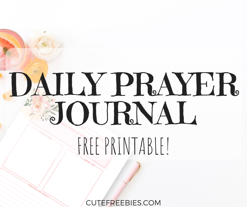 image regarding Printable Monthly Prayer Calendar called Absolutely free Day by day Prayer Magazine Printable Web page! - Adorable Freebies