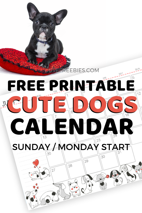 Cute 2020 Printable Calendar Free Printable 2020 Calendar For A Happy Year!   Cute Freebies For You