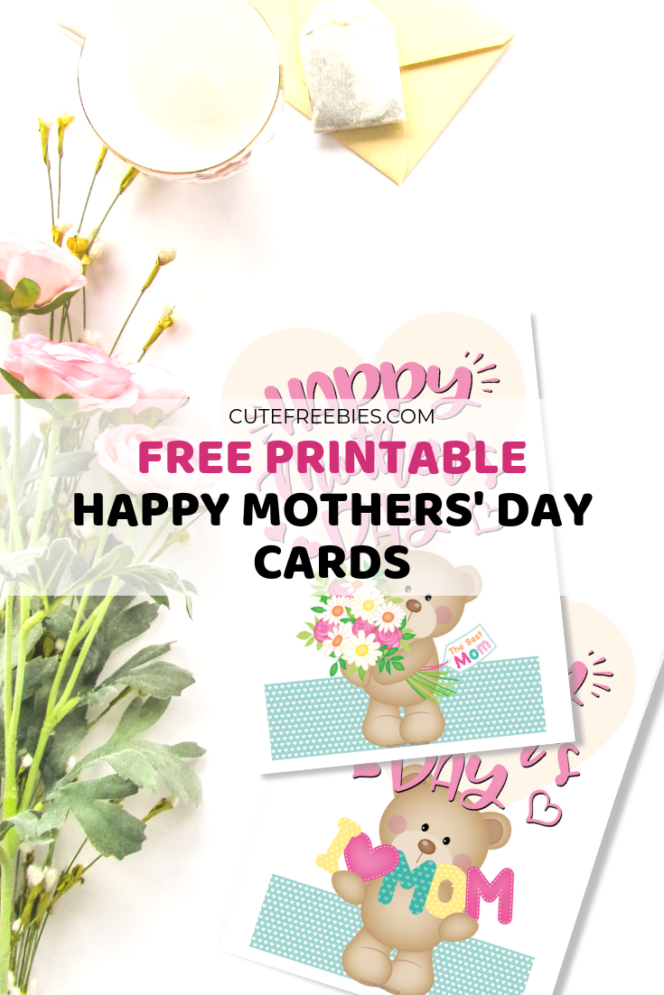 photo regarding Mother's Day Printable Card identify Adorable Printable Moms Working day Playing cards! - Adorable Freebies For On your own
